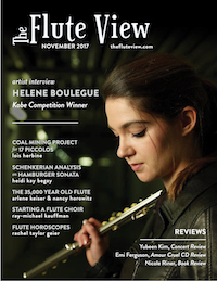 The Flute View Nov